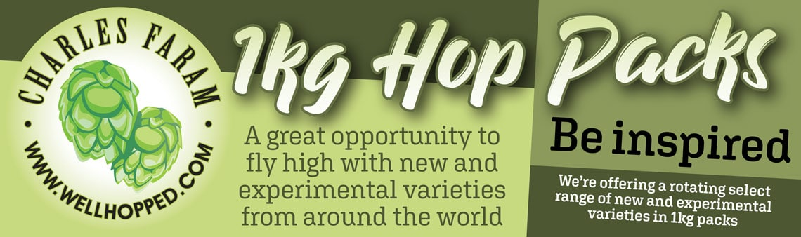 1kg hop pack graphic - We're offering a rotating select range of new and experimental varieties in 1kg packs