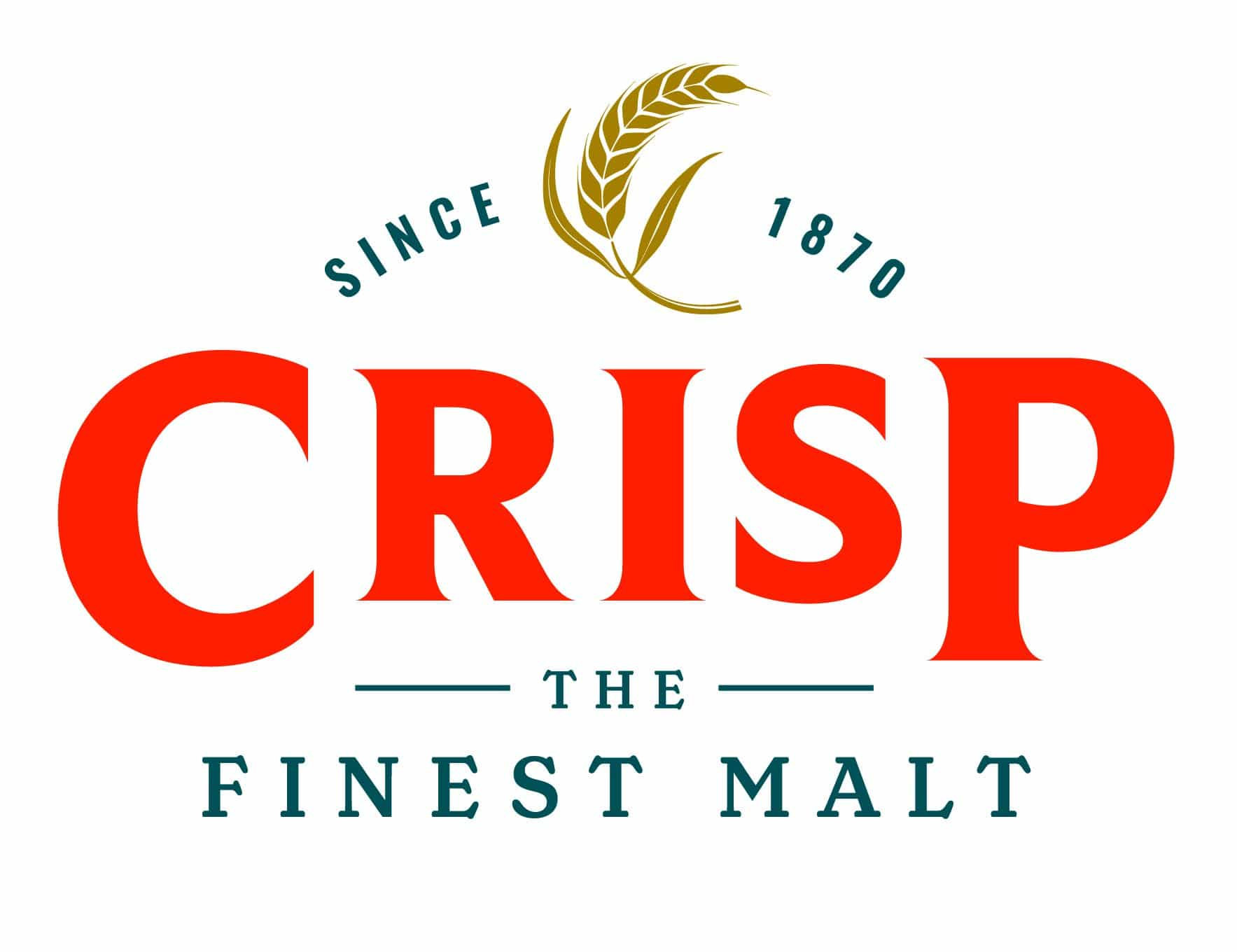 Crisp Malt logo representing malt products and malt specifications